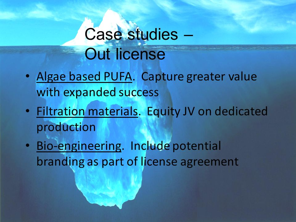 PARAGON--Voice-of-Market(TM) SOCMA Conference 12 Algae based PUFA.