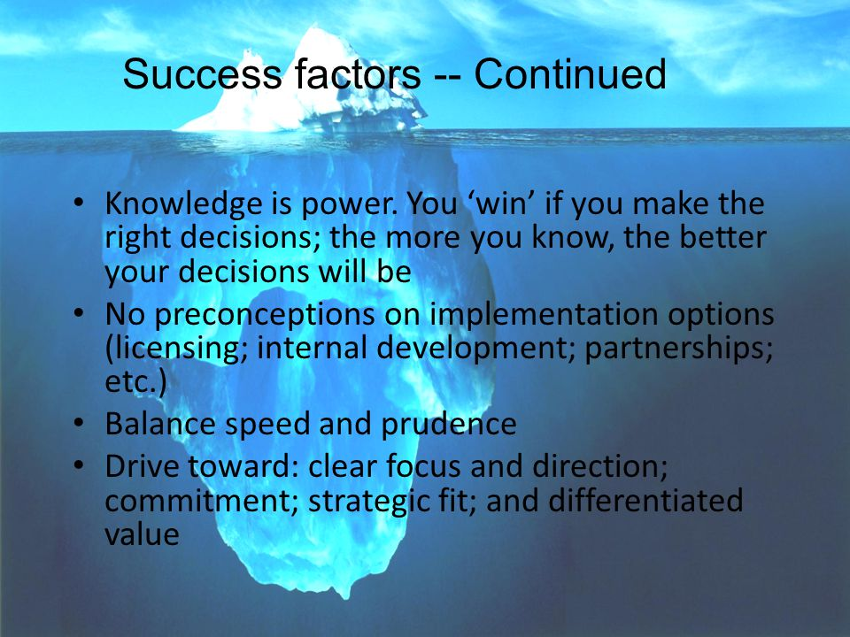 PARAGON--Voice-of-Market(TM) SOCMA Conference 9 Knowledge is power.