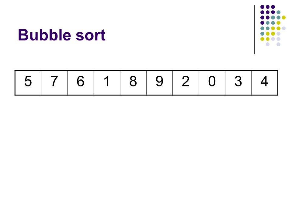 5761982034 Fifth Comparison Swap