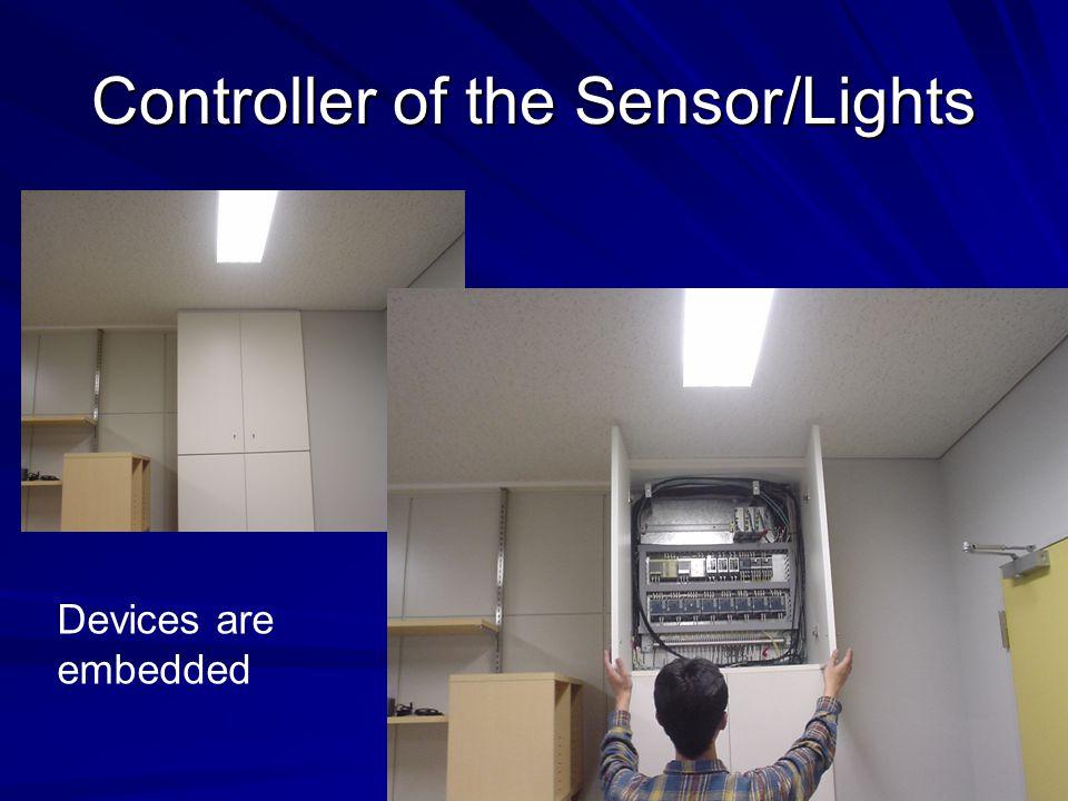 Temperature Sensor, Light Sensor Human Detector