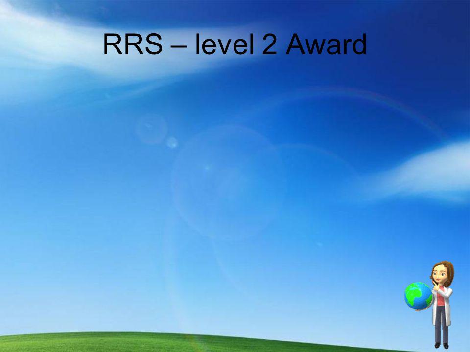 RRS – level 2 Award