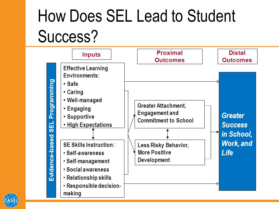 How Does SEL Lead to Student Success.