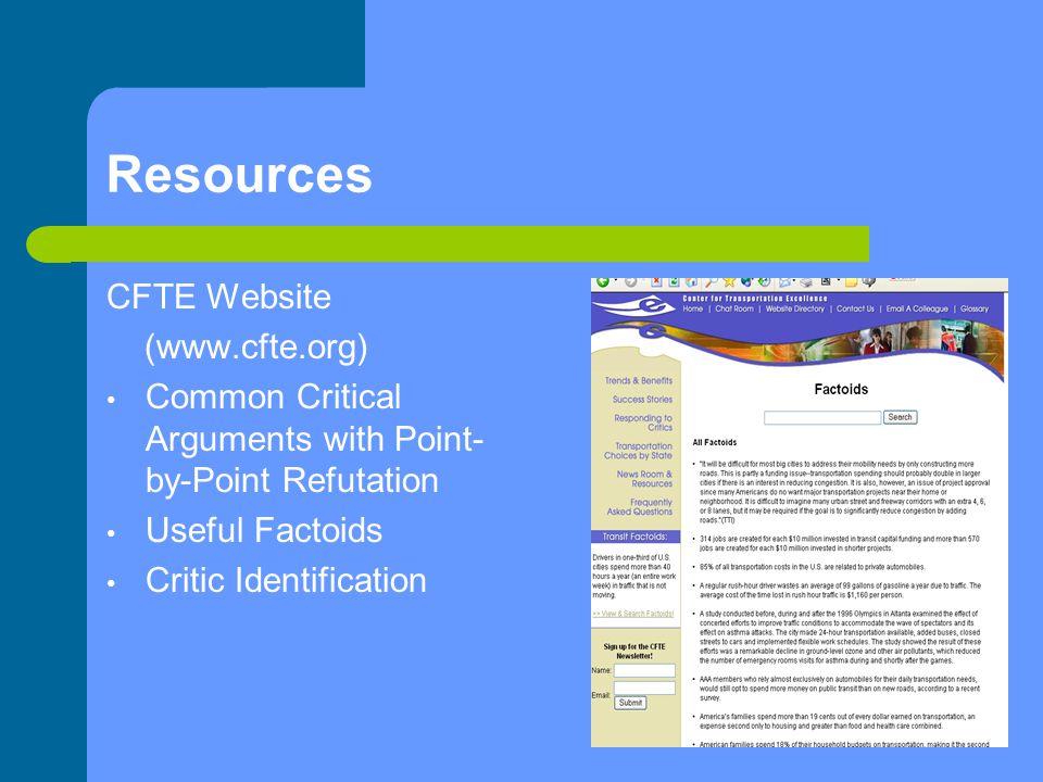 Resources…..