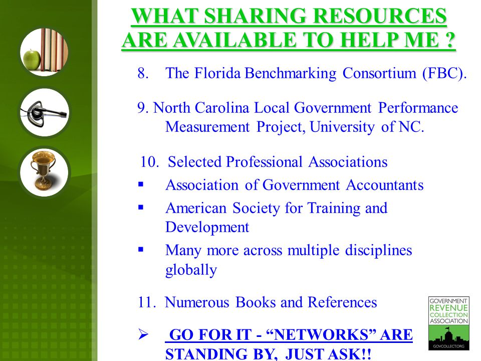 8.The Florida Benchmarking Consortium (FBC). 9.