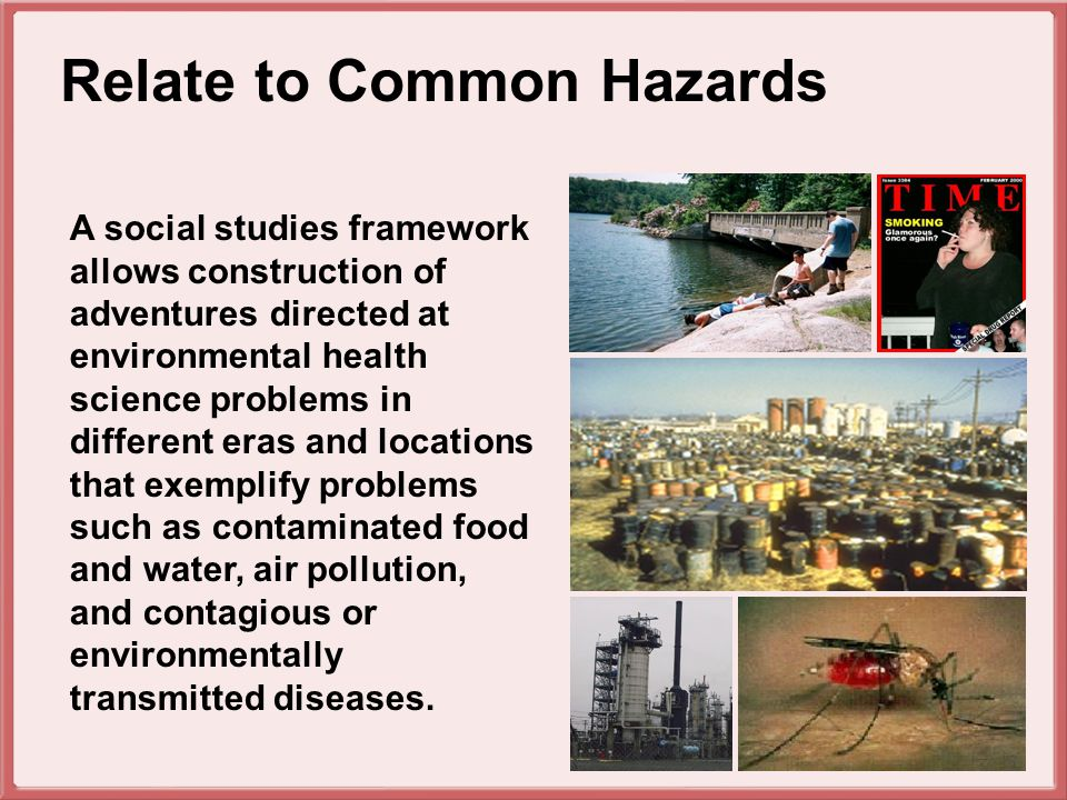Mathematics and science are used to Mathematics and Science calculate environmental risk.
