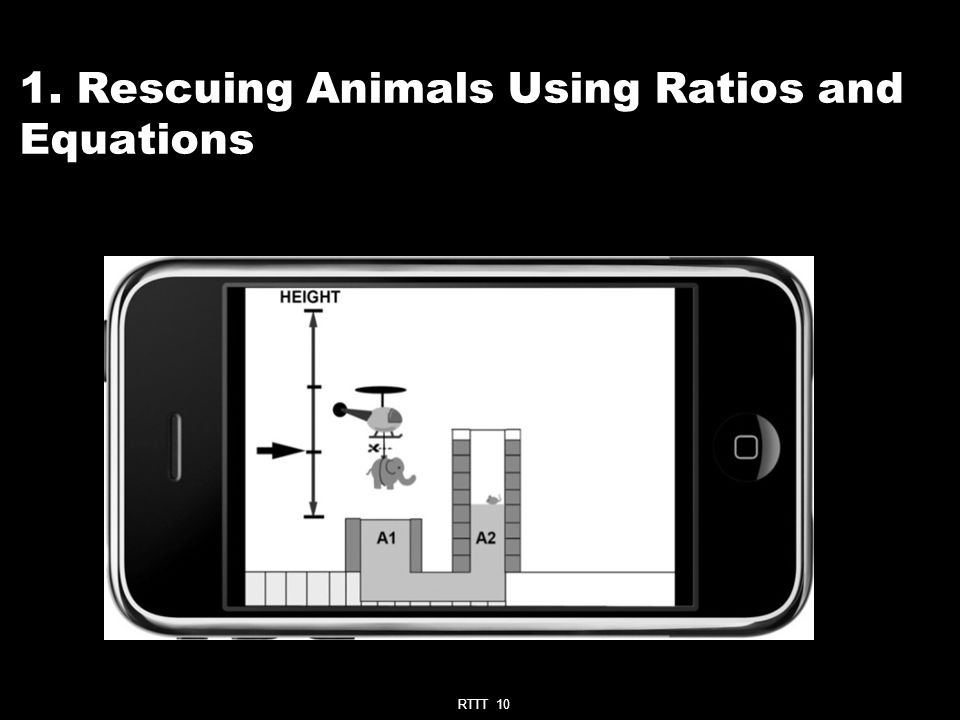RTTT 10 1. Rescuing Animals Using Ratios and Equations