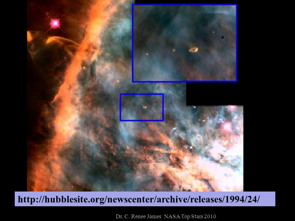 http://hubblesite.org/newscenter/archive/releases/1994/24/ Dr. C. Renee James NASA Top Stars 2010