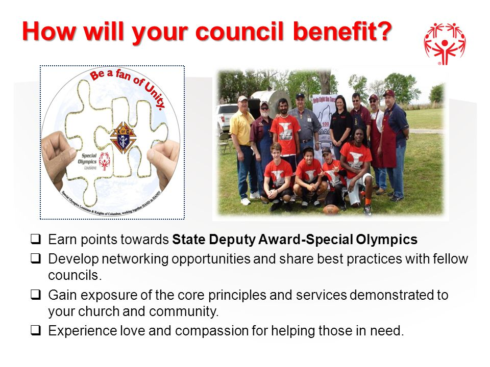 How will your council benefit.