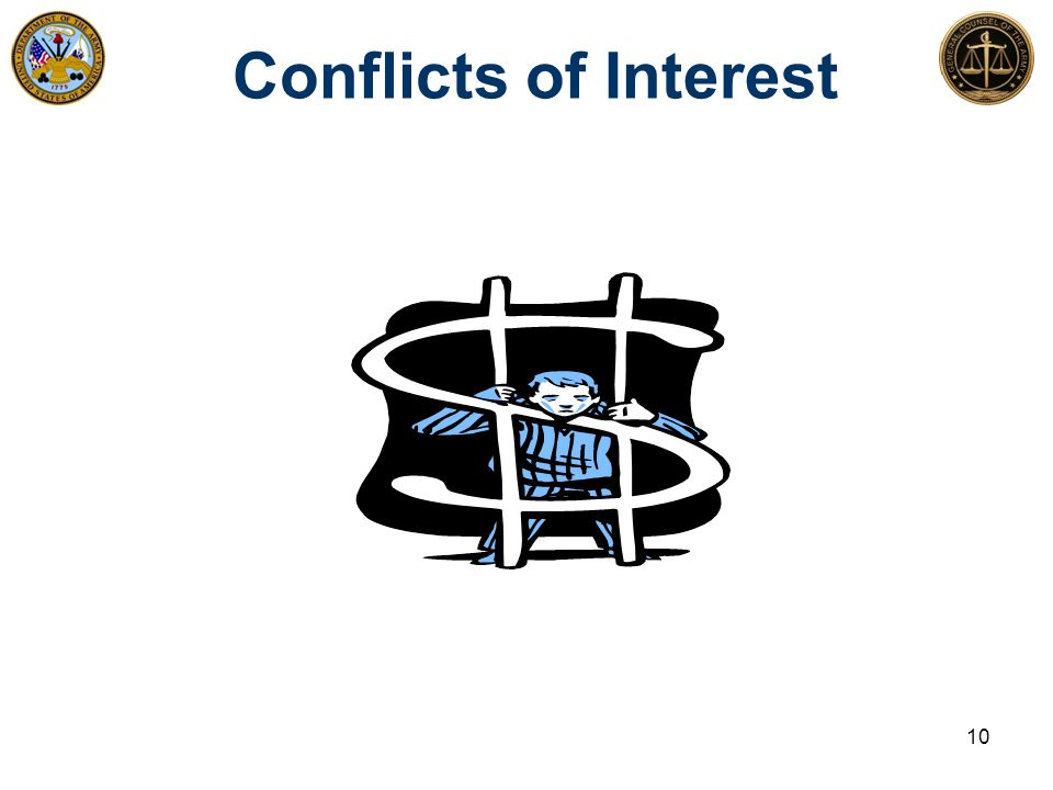 Conflicts of Interest 10