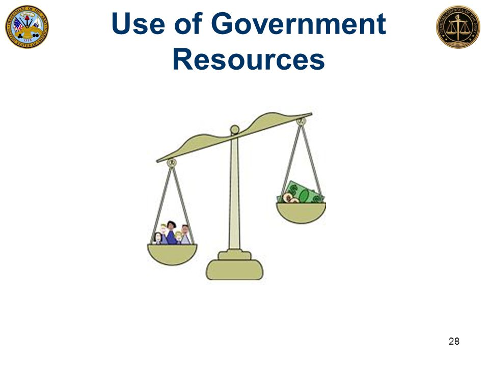 Use of Government Resources 28