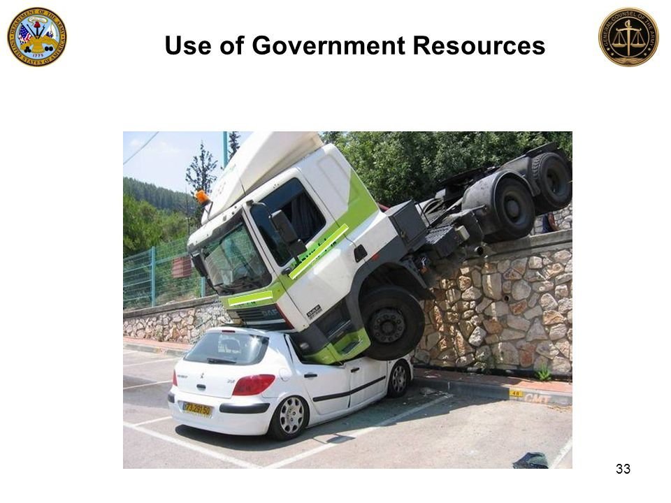 Use of Government Resources 33