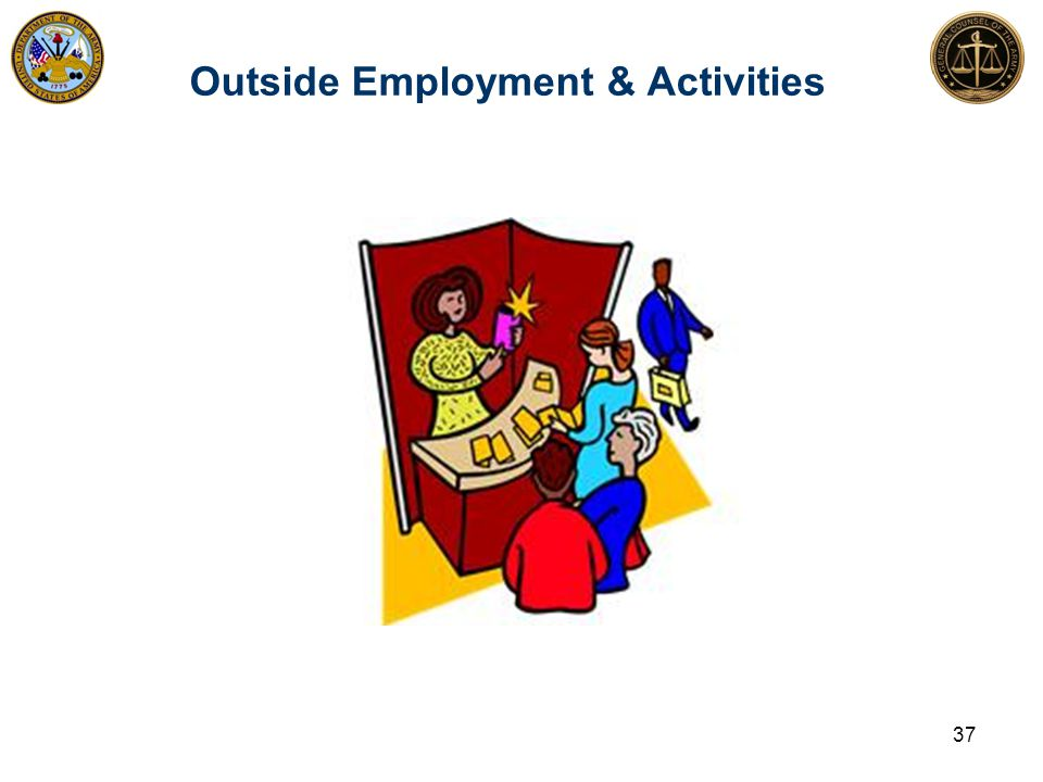Outside Employment & Activities 37