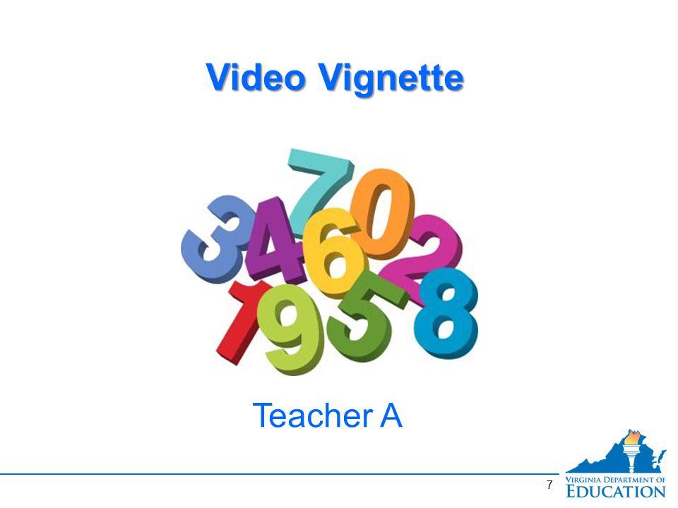 7 Video Vignette Teacher A