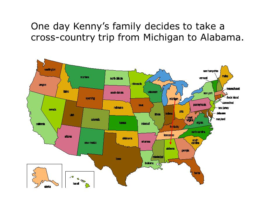 One day Kenny's family decides to take a cross-country trip from Michigan to Alabama.
