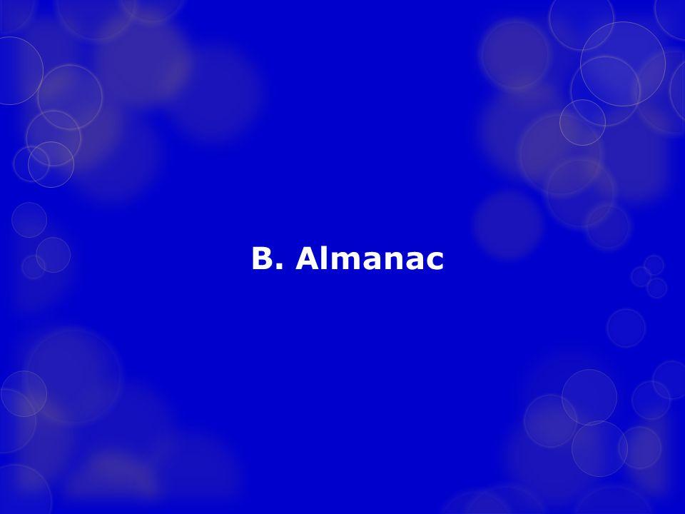 B. Almanac