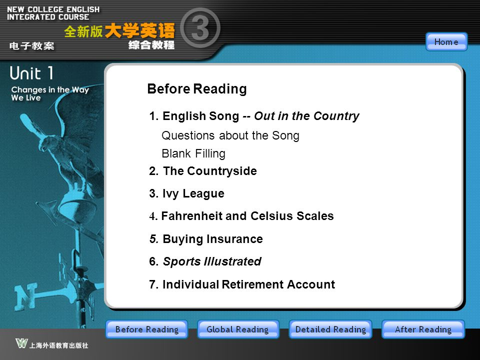 BR1.11 Questions about the Song Listen to the song and answer the following questions. ■