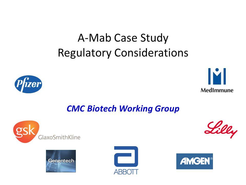 A-Mab Case Study Regulatory Considerations CMC Biotech Working Group