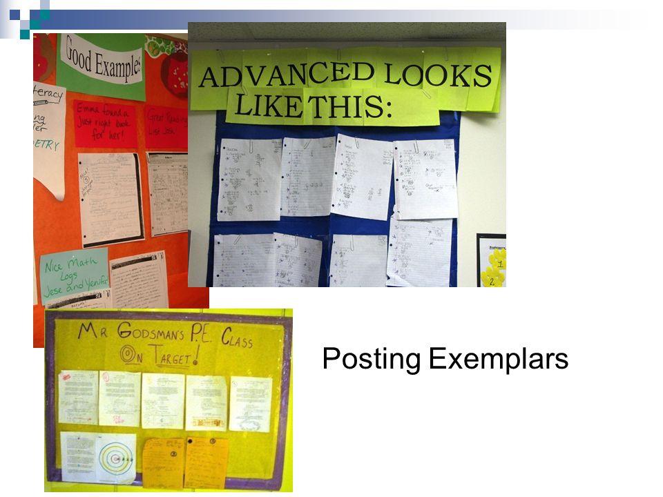 Posting Exemplars