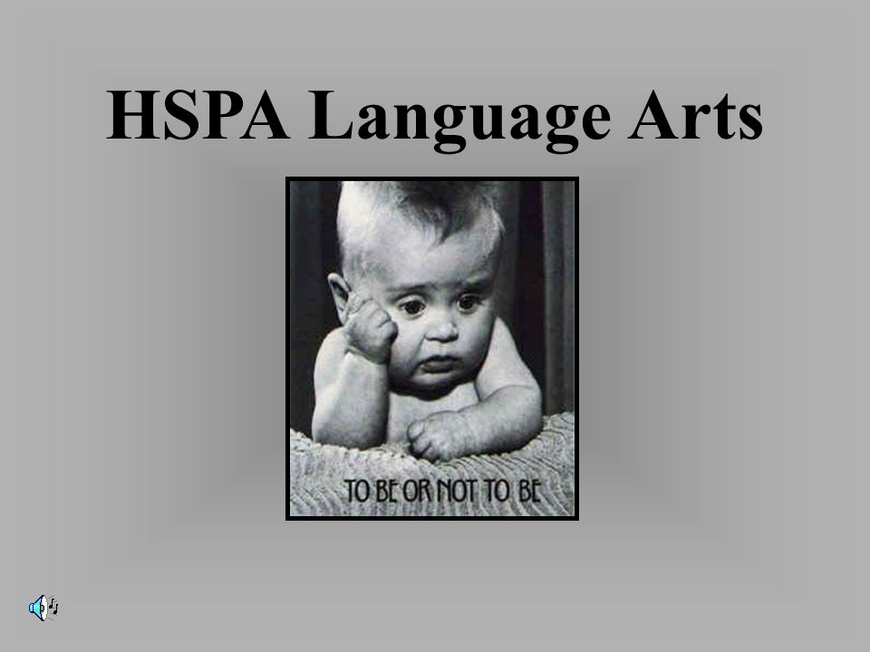 HSPA Language Arts