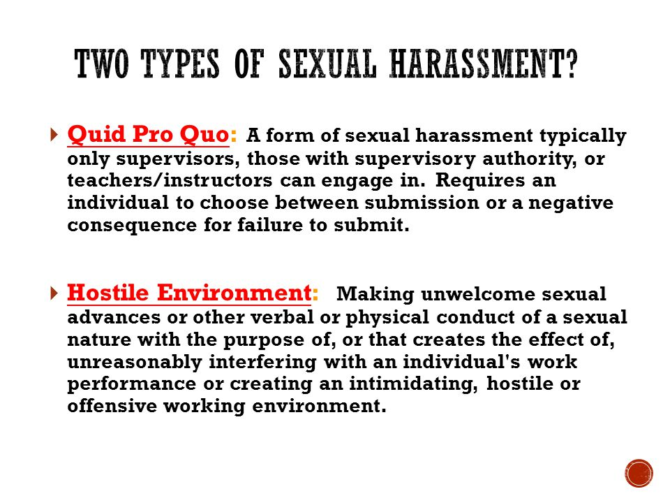  Define Sexual Harassment  Define and detail Ethics as expected at HCISD  Give examples of each  Identify and review District policies  Direct employees to self advocate, say NO, and report sexual harassment and unethical behavior immediately HCISD Sexual Harassment Prevention & Ethics Training