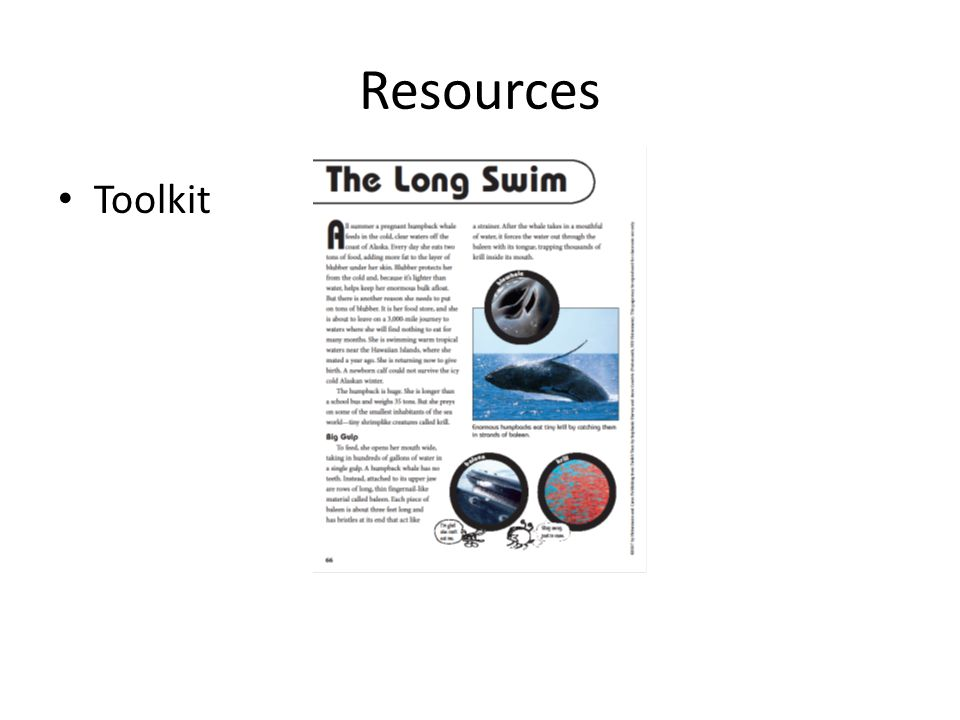 Resources Toolkit