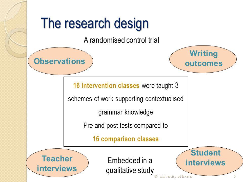 Grammar in the New Curriculum 26© University of Exeter