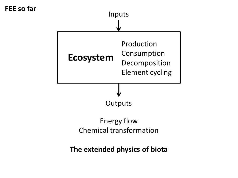 Jones et al. 2010 Framework: Mostly Temporal Process, consequences, system dynamics Magnitudes