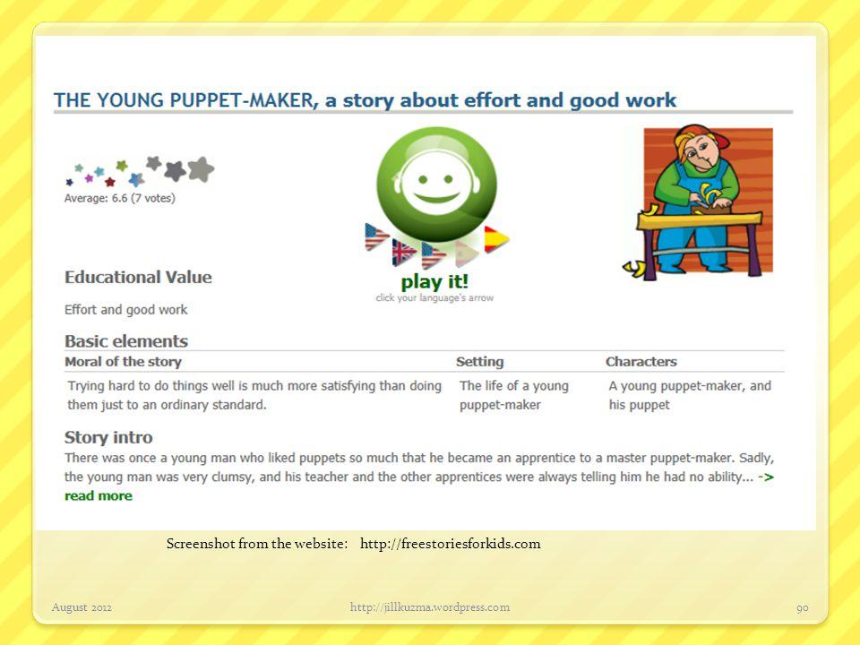 Children's Literature for Attention/Focus August 2012http://jillkuzma.wordpress.com91 Author: S.J.