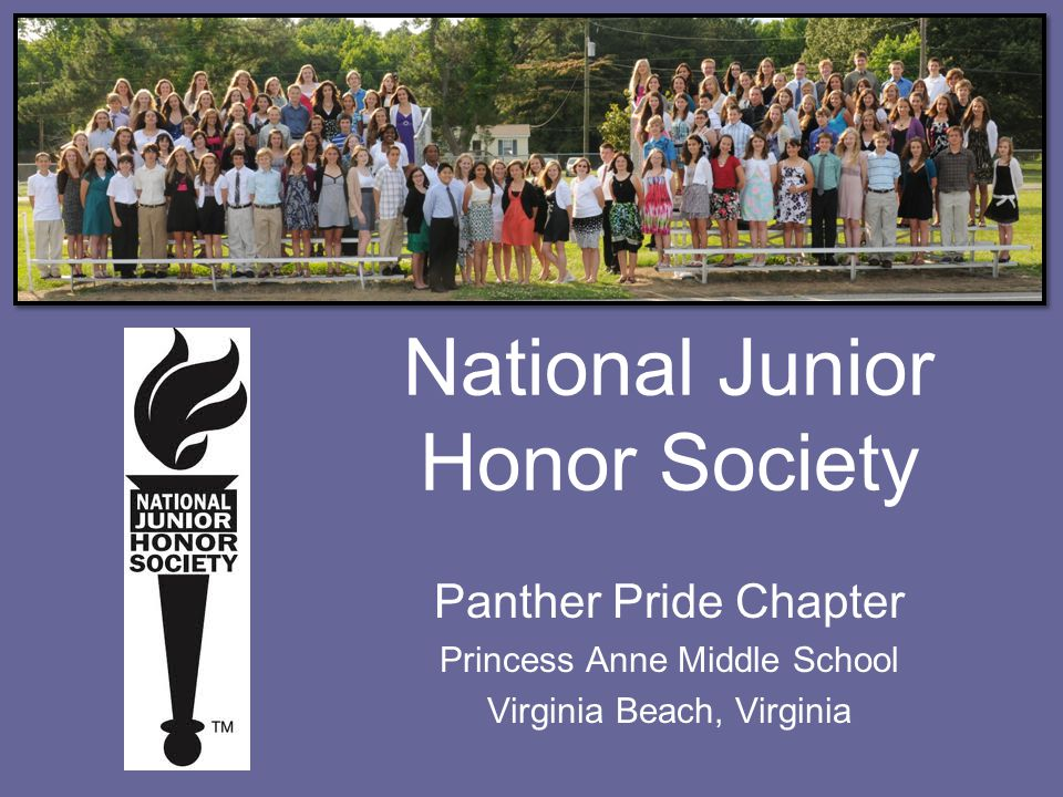 What is the NJHS.The National Junior Honor Society is more than just a 3.5 grade point average.