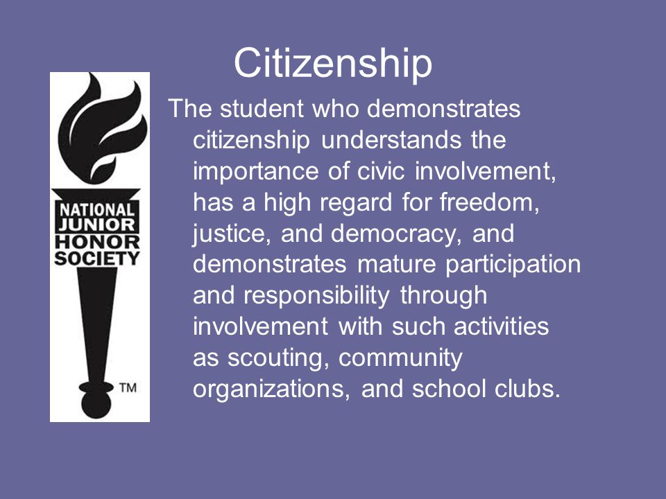 Being a good citizen is more than waving the flag and learning about the Constitution.