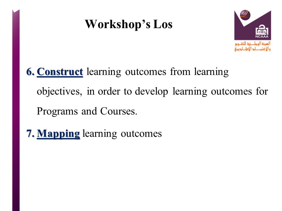 Course Learning Outcome Example: Course Learning Outcome students will be ableto discuss 7 different ways  On successful completion of the course students… will be able to discuss 7 different ways how information technology can be used to help business organizations to succeed in their objectives.
