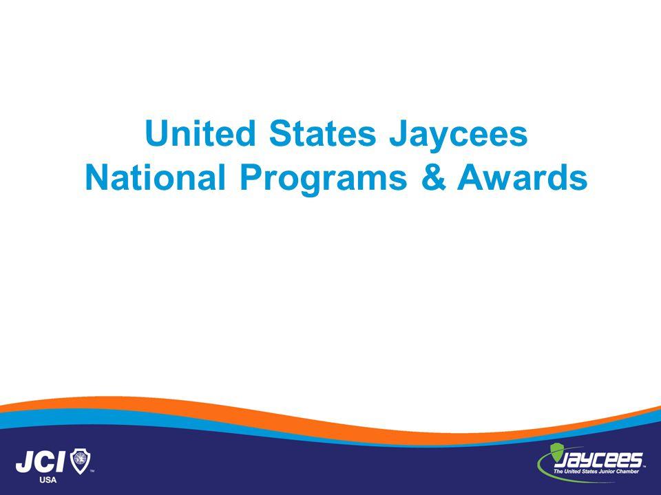 United States Jaycees National Programs & Awards