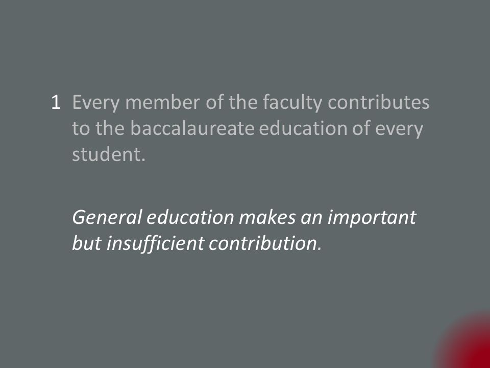 General education makes an important but insufficient contribution.
