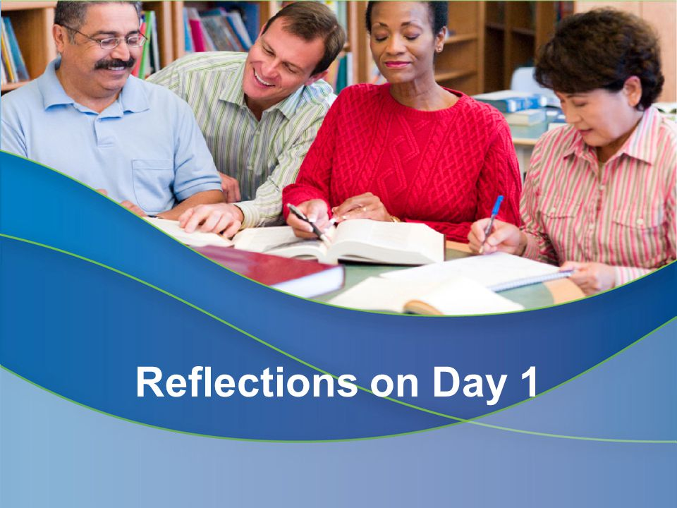 Reflections from Day 1 Greater understanding of the instructional shifts Learning helped improve classroom rigor More opportunities to get up and move around Different ways of presenting information Norms Please feel free to talk to me/ask any clarifying questions off-line.