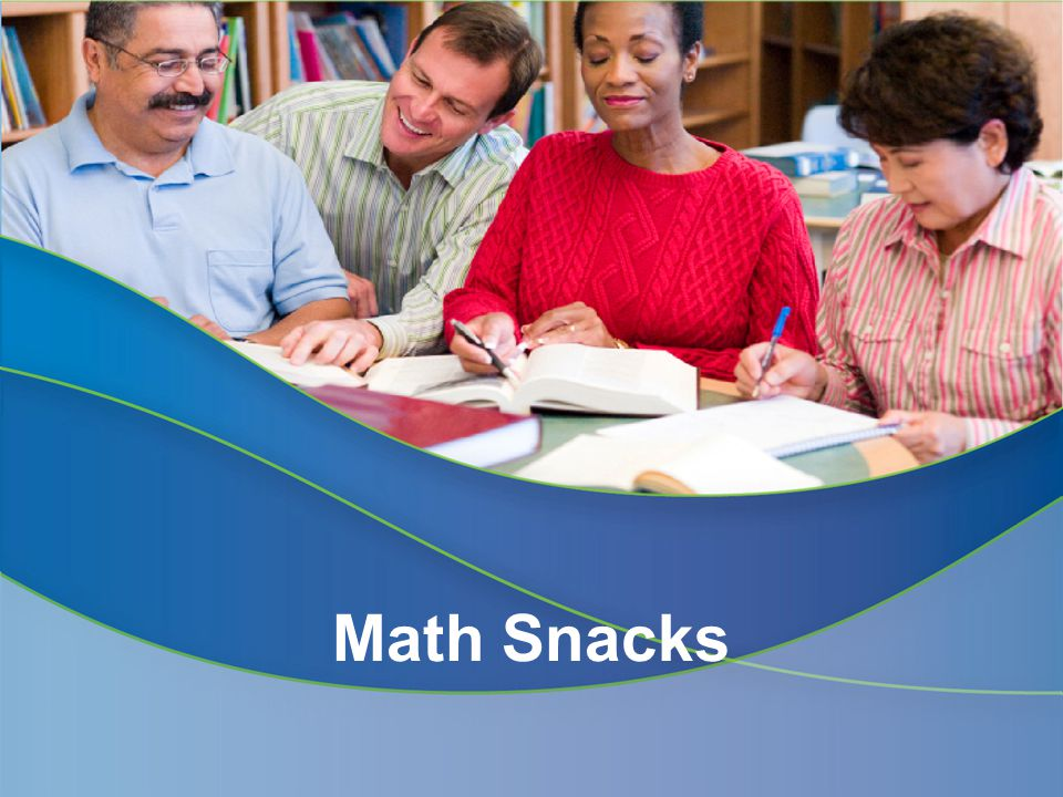 Smart and yummy educational animations, mini-games, and interactive tools that help mid-school learners better understand math concepts. www.mathsnacks.com