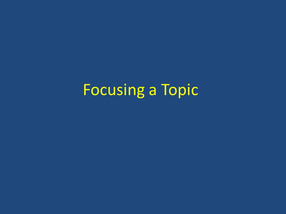 Topic Sentence A topic sentence states the central idea of the paragraph It tells the reader what to expect about the information that follows In academic writing, it usually works best at the beginning of a paragraph