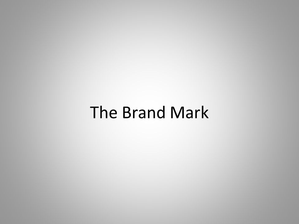 The Brand Mark