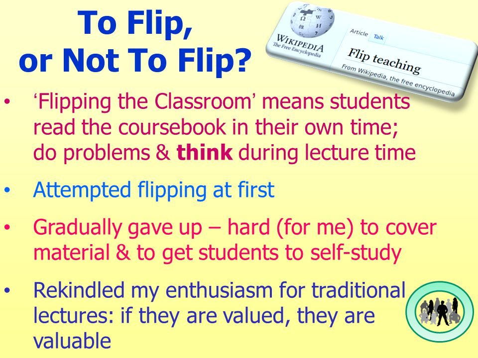 To Flip, or Not To Flip.