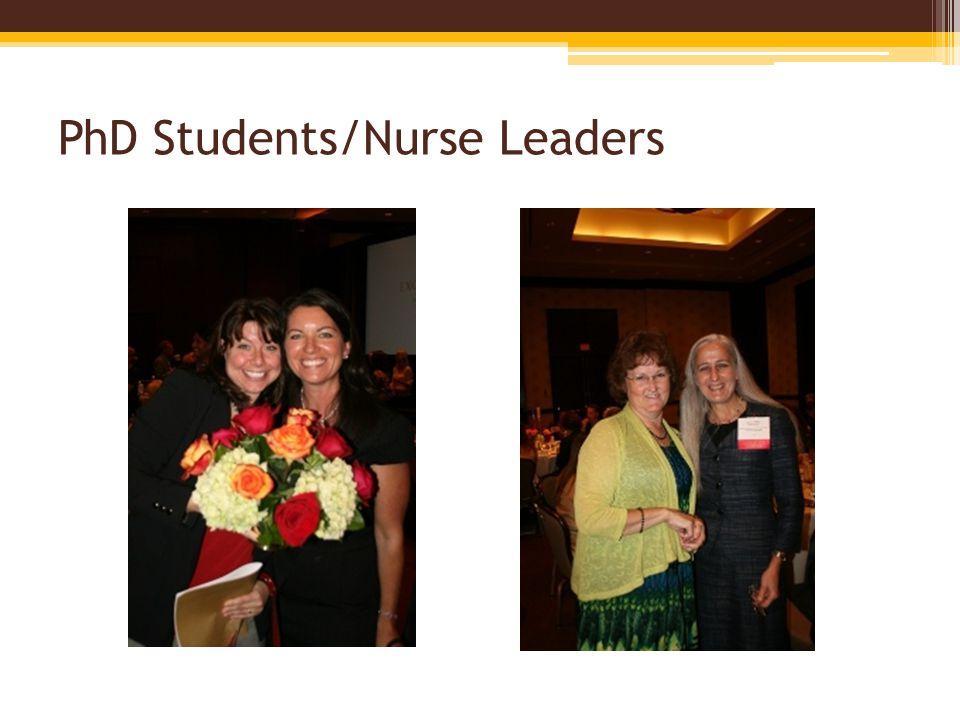 PhD Students/Nurse Leaders