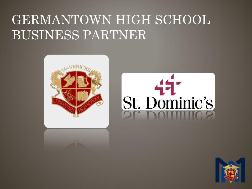 GERMANTOWN HIGH SCHOOL BUSINESS PARTNER