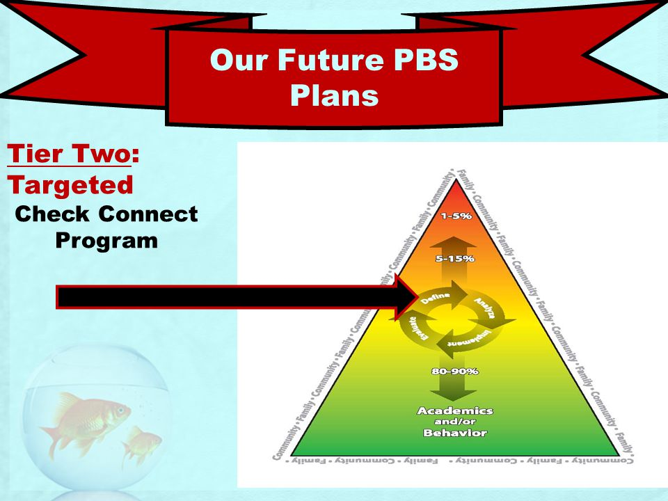 Our Future PBS Plans Tier Two: Targeted Check Connect Program