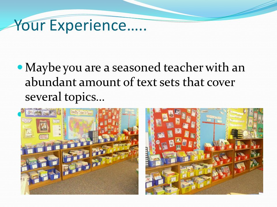 Your Experience…..
