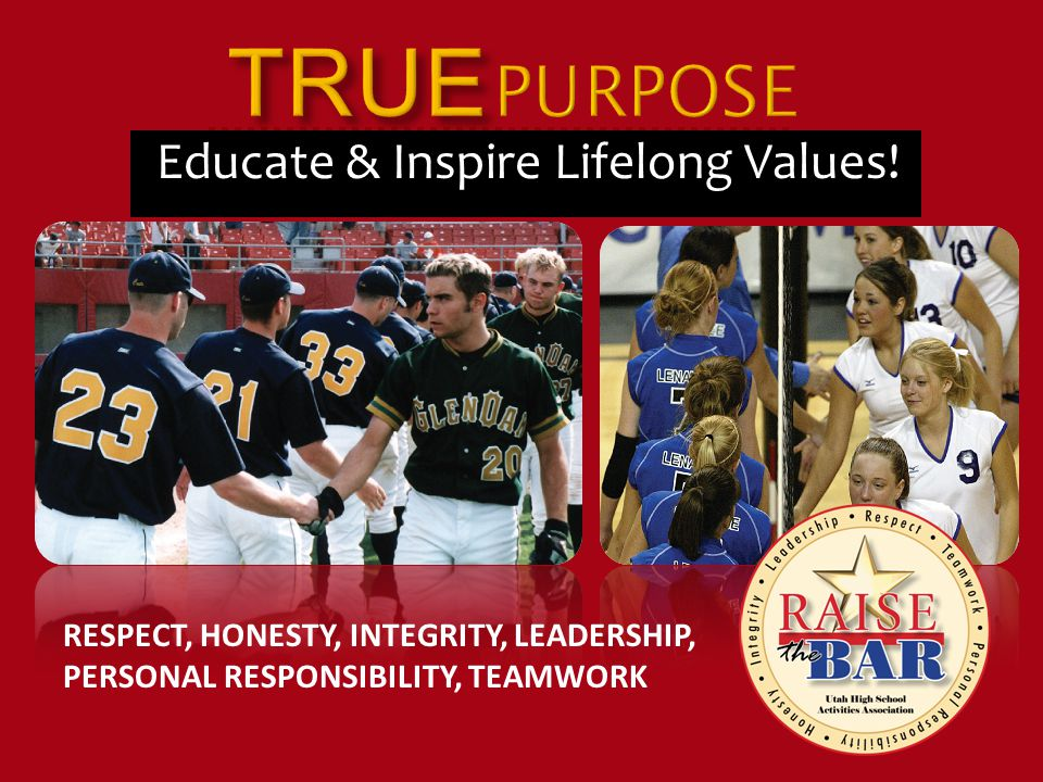 Educate & Inspire Lifelong Values.