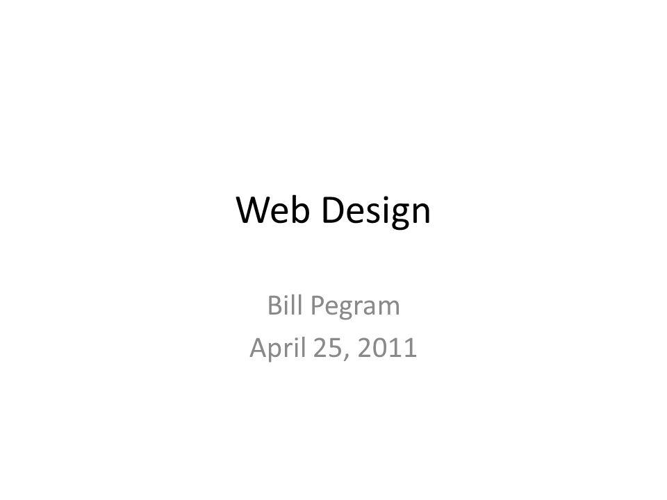 Goal of Presentation Summarize ideas from part of The Non- Designers Web Book, Third Edition, Robin Williams & John Tollett, Peachpit Press, 2004