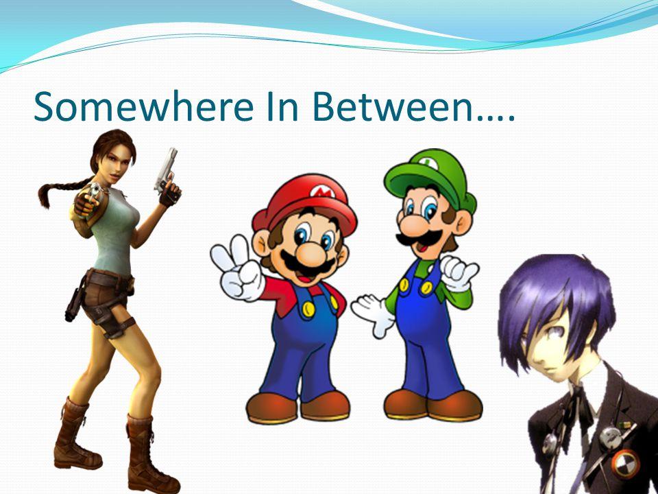 Somewhere In Between….