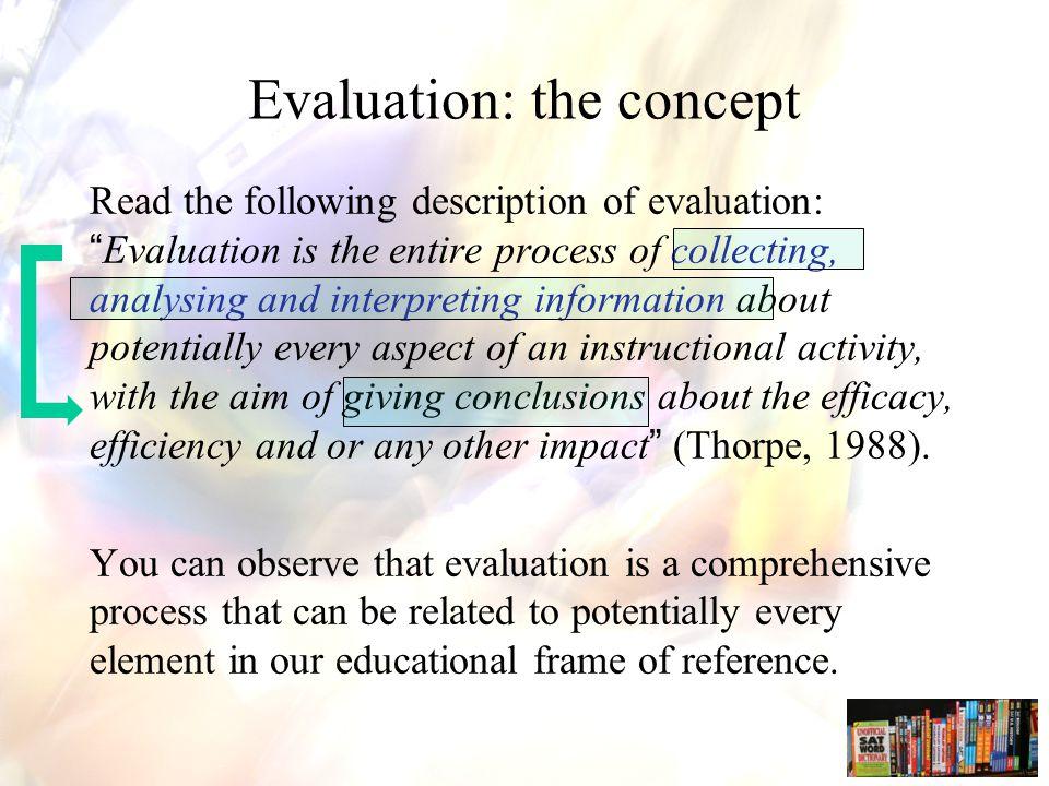 Dimension 4: When to evaluate.