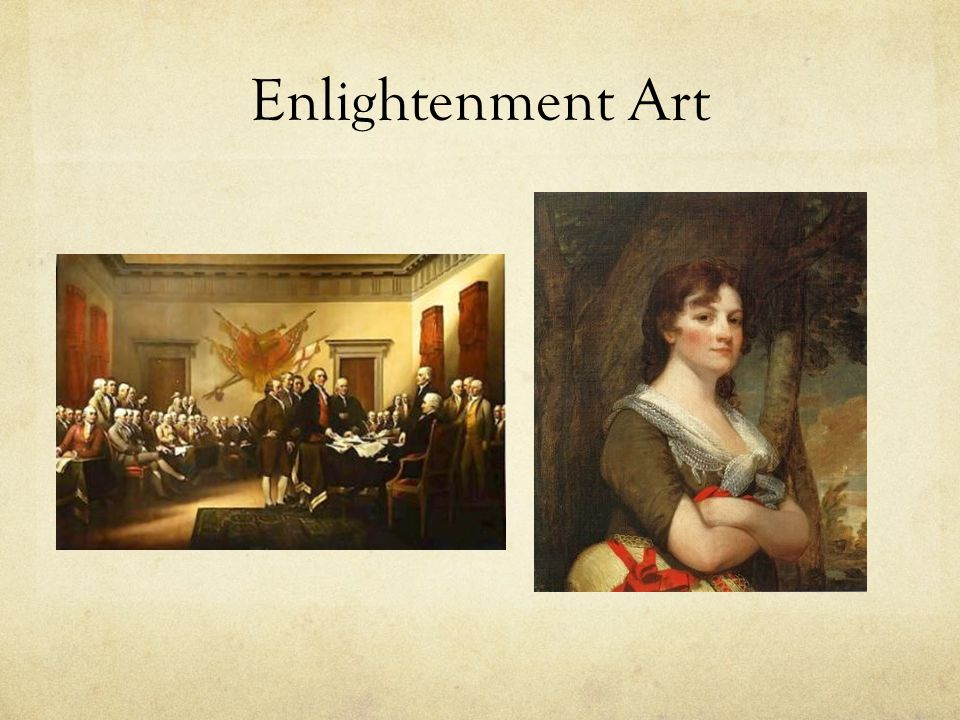 Enlightenment Art