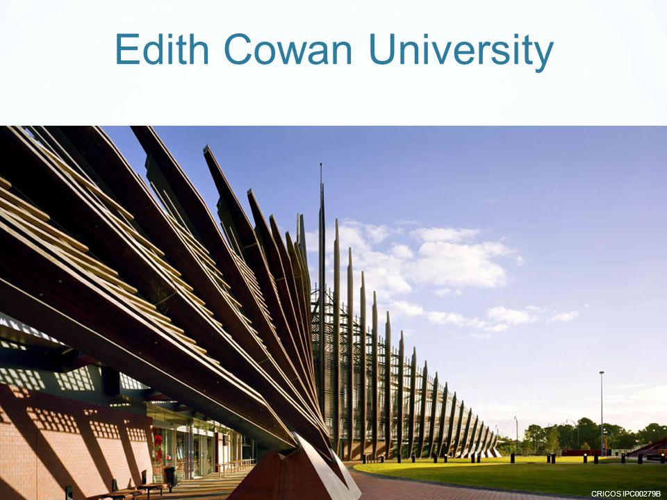 CRICOS IPC00279B Edith Cowan University