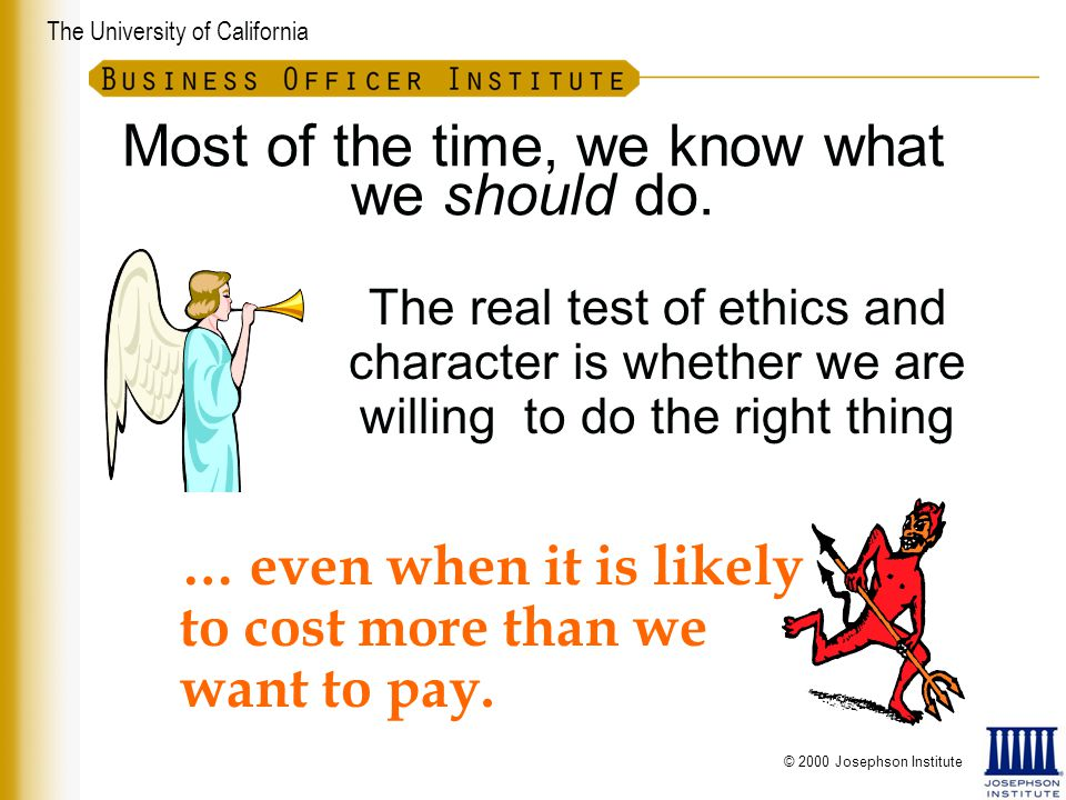 The University of California Consider the Real Cost Productivity Morale Investigative Leave Investigation Disciplinary Action Grievances Lawsuits Recruitment Training Funding / Gifts $ Small Loss $
