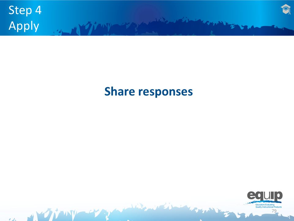 79 Step 4 Apply Share responses
